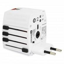 Lifeventure USB World Travel Adaptor