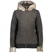 Cmp Fix Hood Jacket buttonedwooltech