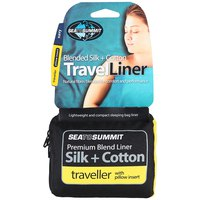 Sea to summit Silk/Cotton Travel Liner Traveller with Pillow Slip