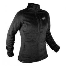Vertical Soft Fleece Full Zip