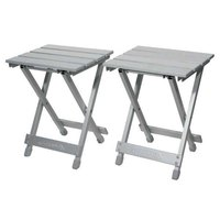 Ferrino Alu Stool Set 2 Units