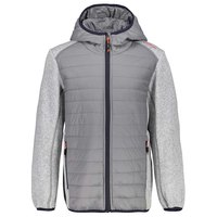 Cmp Boy Jacket Fix Hood Hybrid