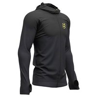 Compressport 3D Thermo Seamless Hoodie Zip Black Edition 2019