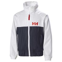 Helly hansen Active Rain Anorak Junior Gul, Trekkinn