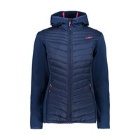 Cmp Woman Jacket Fix Hood Hybrid