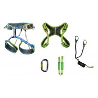 Ocun Via Ferrata Webee+Chest Set